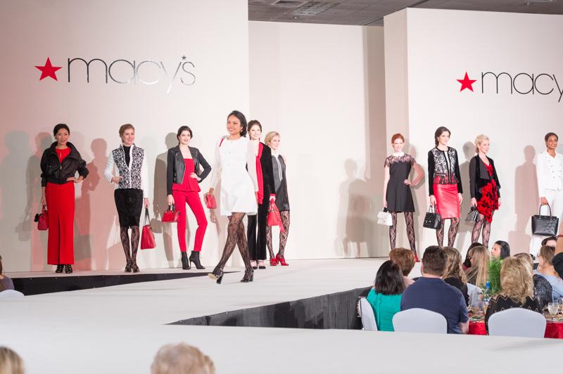 Macy's Fashion Show Red Everyone