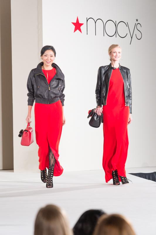 Macy's Fashion Show Red