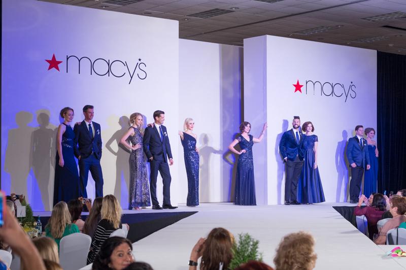 Macy's Blue Look