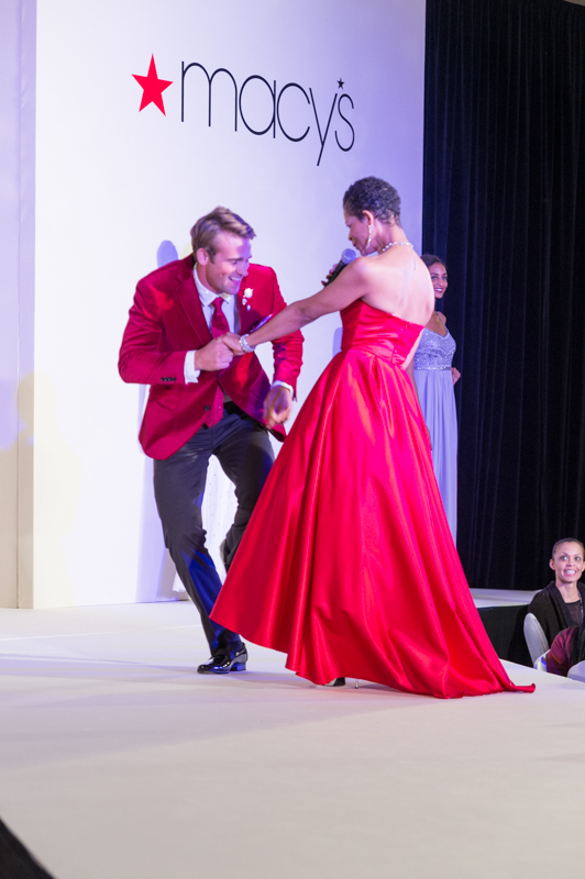 Macy's Red Dress Dancing