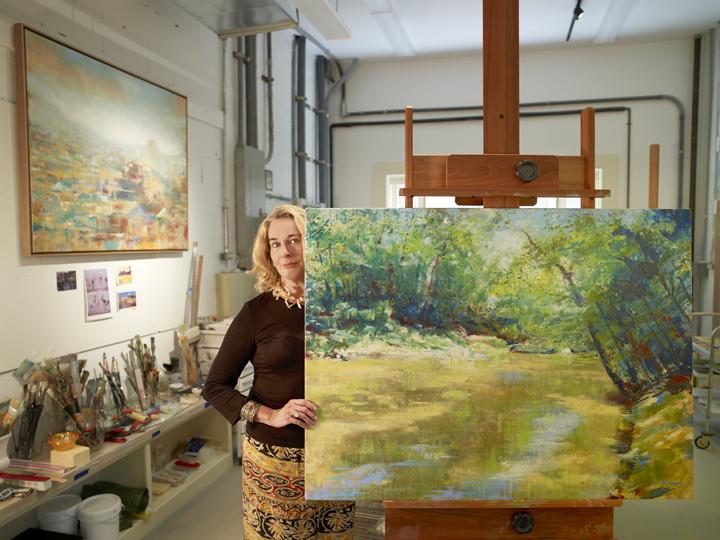 Barbara Hines in Studio 2