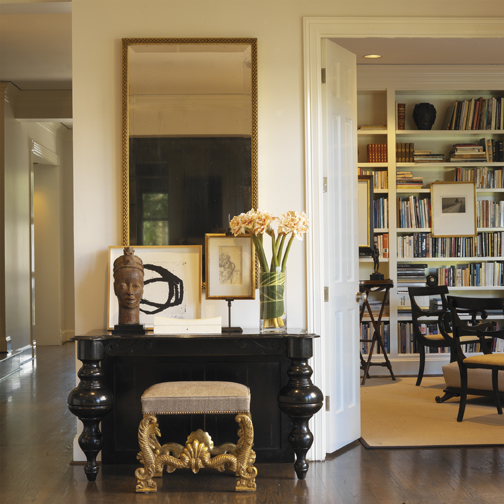 Butler Living Room to Library