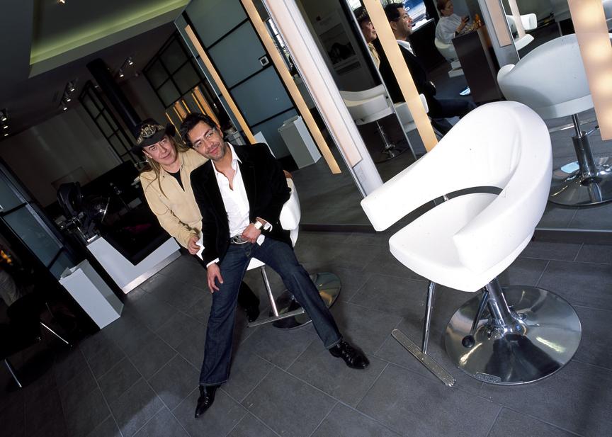Ceron and Jose Eber